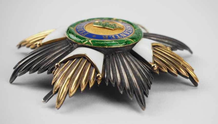 Saxon Duchies: Saxony Ernesti Against The Orders Of The House, 2. Model (1864-1935), Grand Cross Star. - photo 3