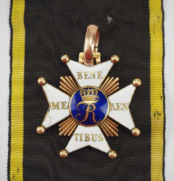 Württemberg: civil order of merit, knight's cross with certificate for captain Johann Christian v. Romig - breeding house keepers to the criminal gotteszell prison in Schwäbisch Gmünd. - photo 3