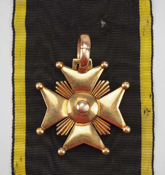 Württemberg: civil order of merit, knight's cross with certificate for captain Johann Christian v. Romig - breeding house keepers to the criminal gotteszell prison in Schwäbisch Gmünd. - photo 5