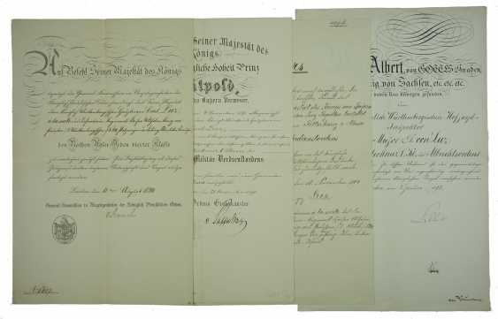 Württemberg: Royal Württemberg court inspector, Major discount, for example, D. Karl Friedrich von Luz - documents - and Documents. - photo 4