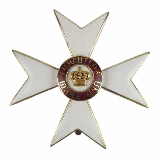Württemberg: order of the Württemberg crown, cross of honour (1892-1918). - photo 1