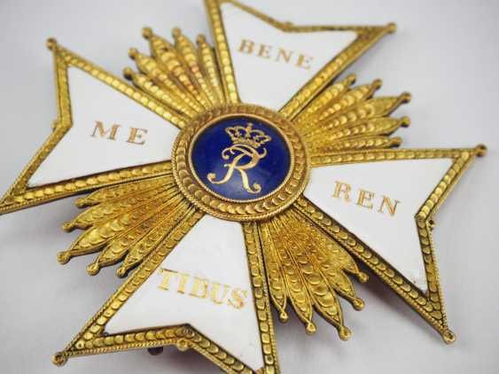 Württemberg: Military Cross Of Merit With Star Of The Order Is Large. - photo 2