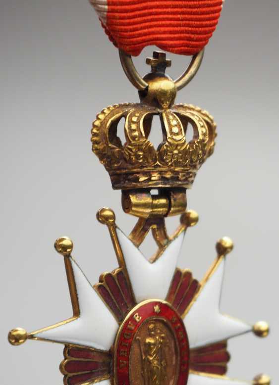 Würzburg: large Wurzburg of St.-Josephs-Orden, knight's cross, Duke. - photo 5