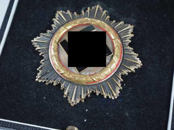 German cross in Gold, in a case - heavy Deschler. - photo 3