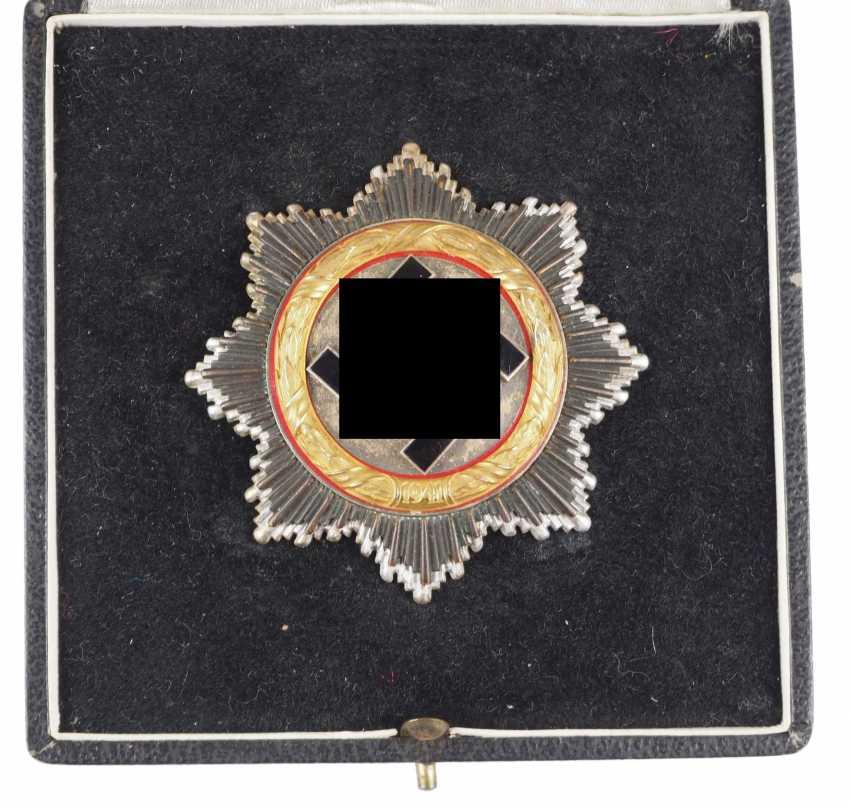 German cross in Gold, in a case - 134. - photo 1