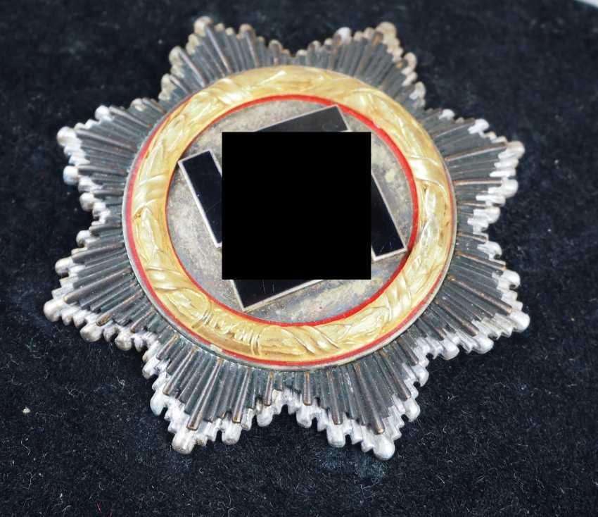 German cross in Gold, in a case - 134. - photo 2