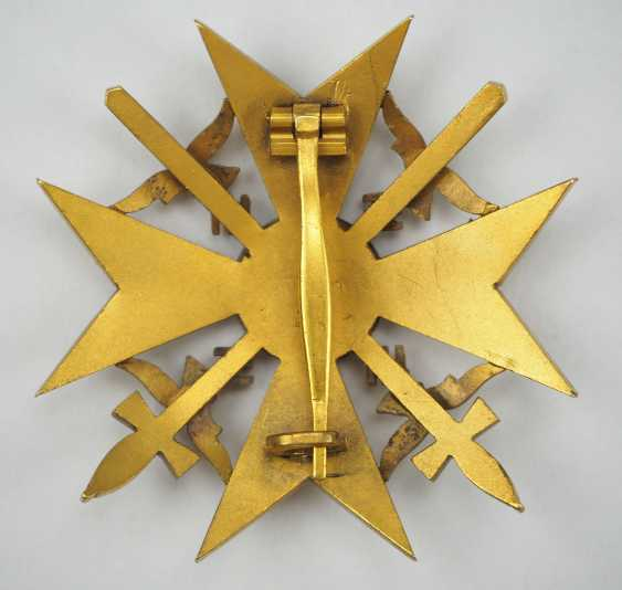 Spanish cross in Gold with swords. - photo 2