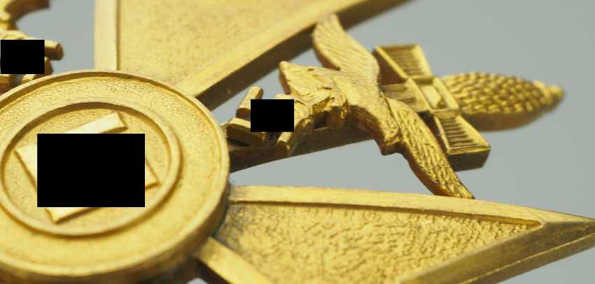 Spanish cross in Gold with swords. - photo 4
