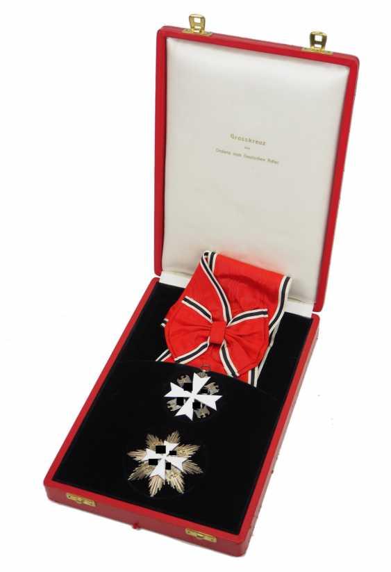 German Eagle Order, 2. Model (1939-1945), Grand cross set, in a case. - photo 1