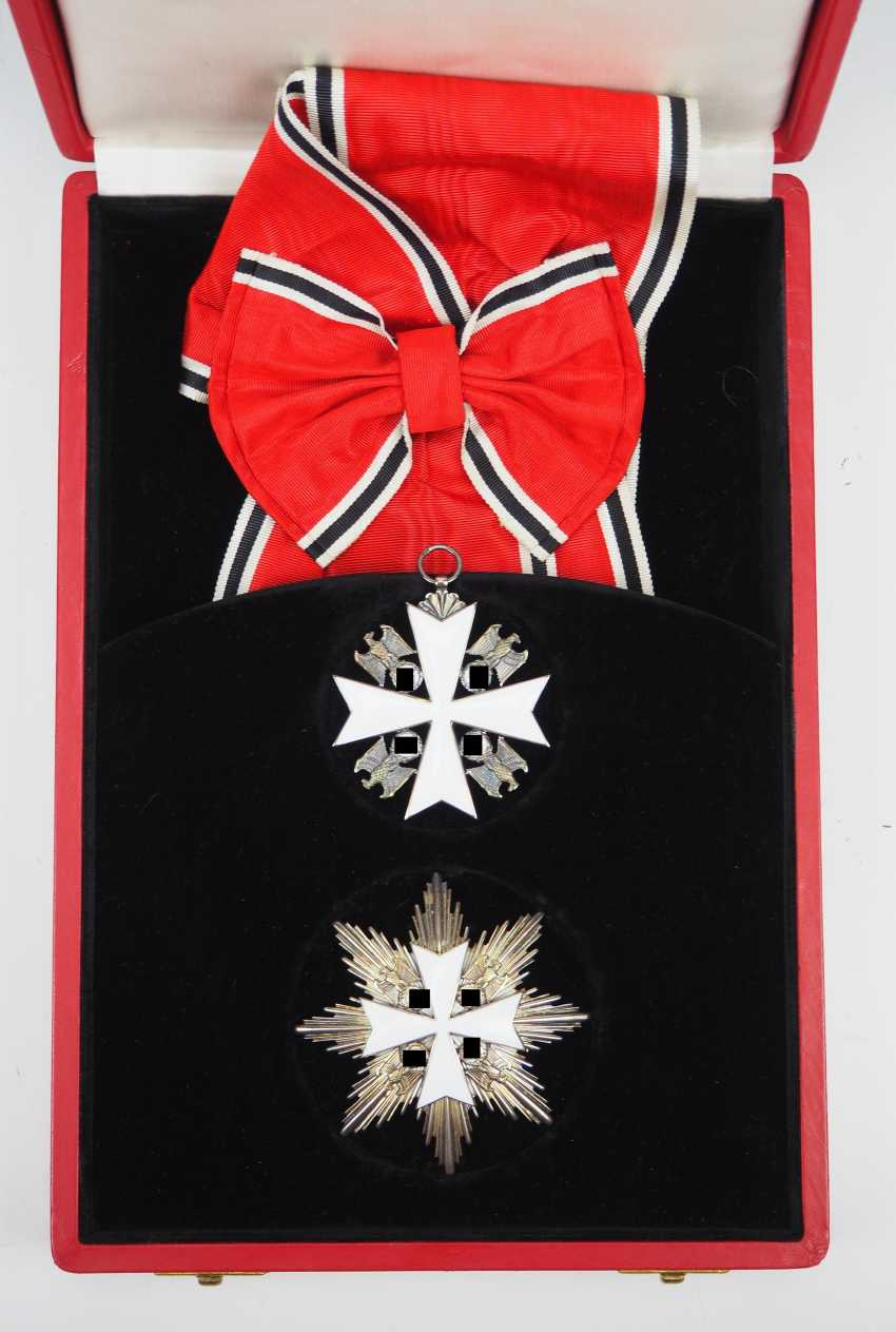 German Eagle Order, 2. Model (1939-1945), Grand cross set, in a case. - photo 2