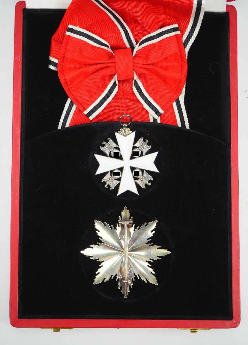 German Eagle Order, 2. Model (1939-1945), Grand cross set, in a case. - photo 6
