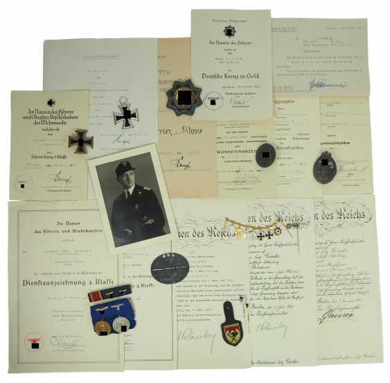 Estate of Colonel Fritz Goecke, commander of the Panzer-Regiment 36. - photo 1