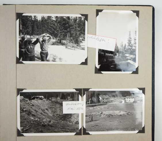 Estate of a staff of 4 corporal./ M. G. battalion (mot.) 4. - M. G. Ski-Brigade Finnland. - photo 6