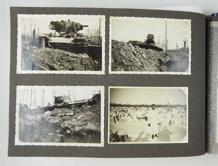 Estate of a staff of 4 corporal./ M. G. battalion (mot.) 4. - M. G. Ski-Brigade Finnland. - photo 9