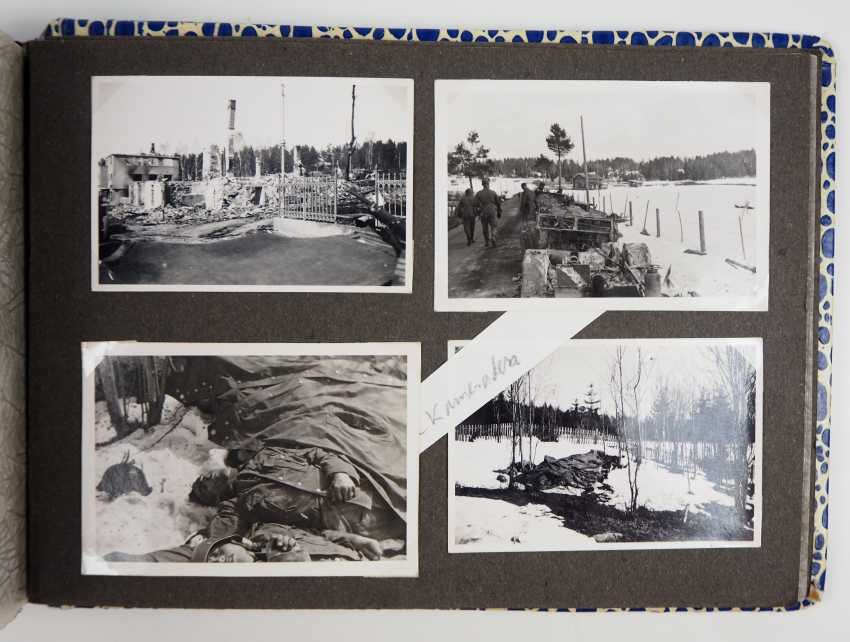 Estate of a staff of 4 corporal./ M. G. battalion (mot.) 4. - M. G. Ski-Brigade Finnland. - photo 10