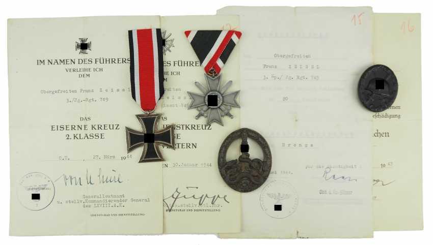 Estate of a lance-corporal of 3./ Jäger-Regiment 749. - photo 2