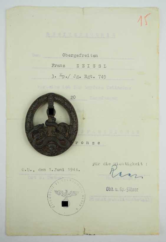 Estate of a lance-corporal of 3./ Jäger-Regiment 749. - photo 3