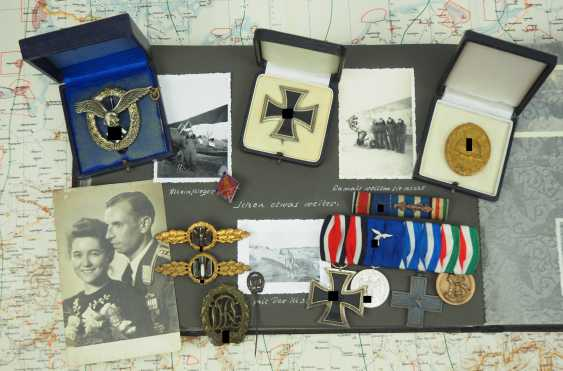 Estate of a Flugzeugfühers of a fighter pilot and Veteran of the African campaign. - photo 1