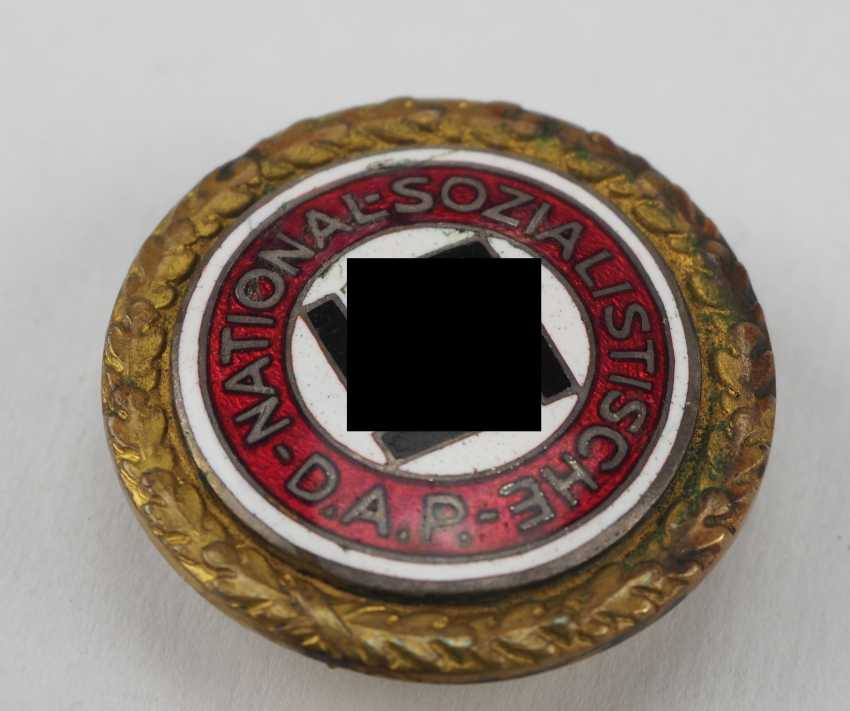 Golden of the Nazi party, a Large and Small version badge. - photo 3