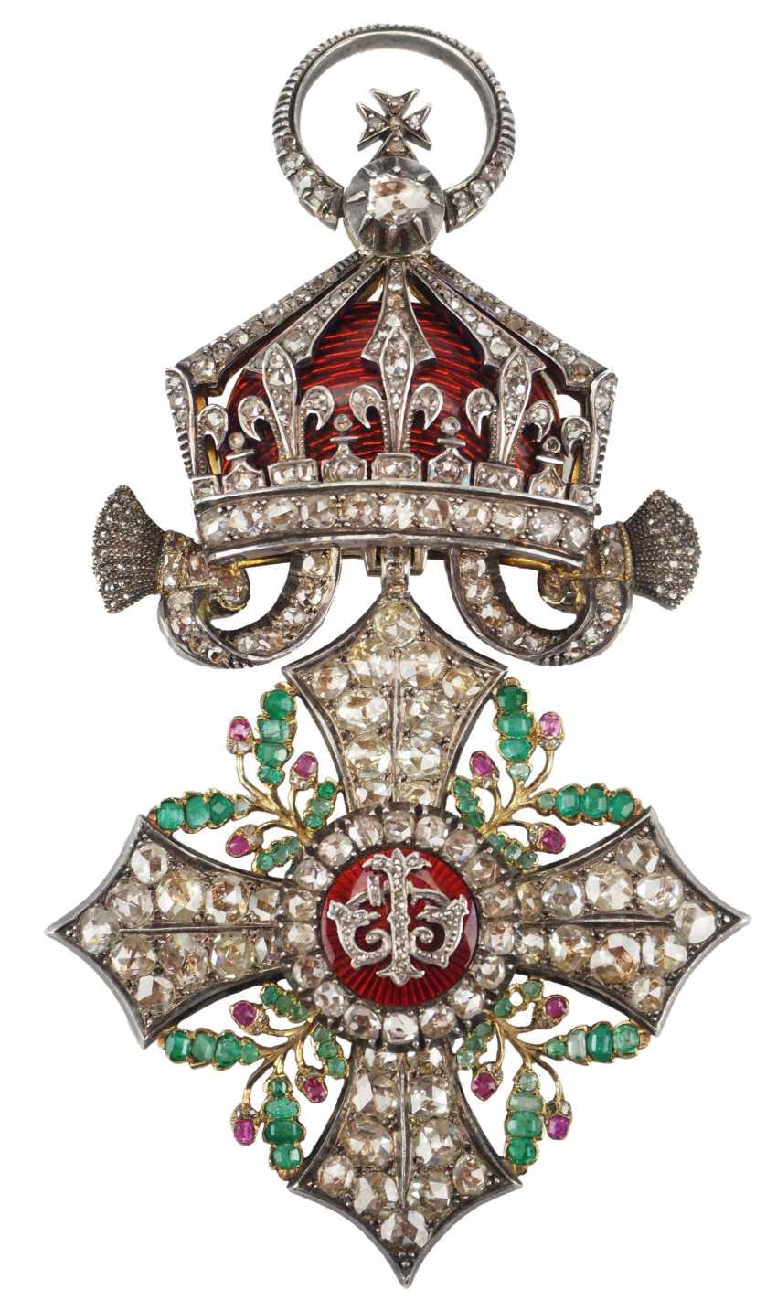 Bulgaria: Civil Order Of Merit, 2. Model, Grand cross Bijou in brilliant. - photo 1