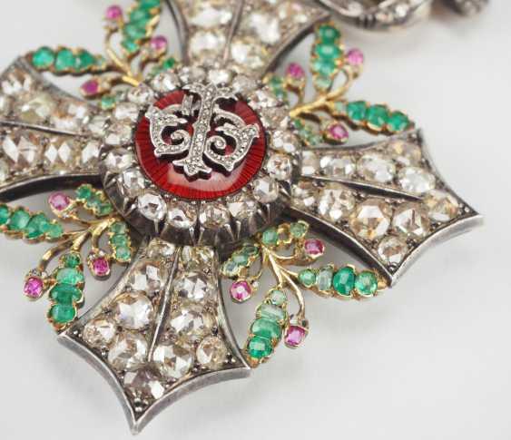 Bulgaria: Civil Order Of Merit, 2. Model, Grand cross Bijou in brilliant. - photo 2
