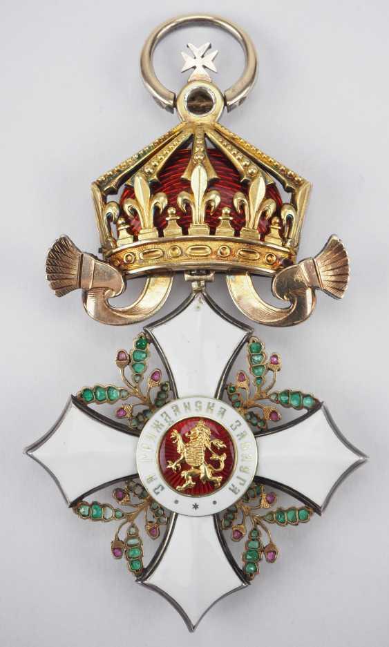 Bulgaria: Civil Order Of Merit, 2. Model, Grand cross Bijou in brilliant. - photo 3
