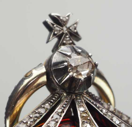 Bulgaria: Civil Order Of Merit, 2. Model, Grand cross Bijou in brilliant. - photo 4