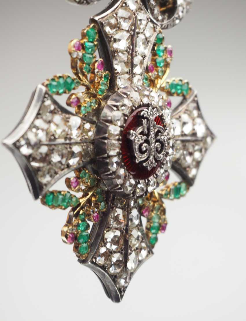 Bulgaria: Civil Order Of Merit, 2. Model, Grand cross Bijou in brilliant. - photo 6