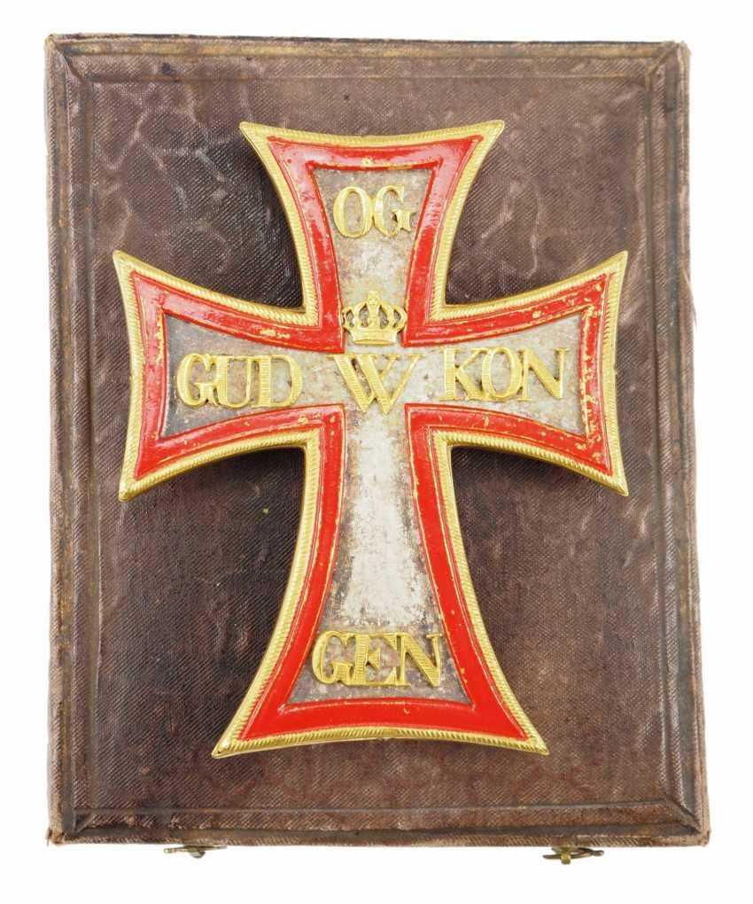 Denmark: Dannebrog-Orden, Comtur star, in a case - 1. District 19. Century. - photo 1