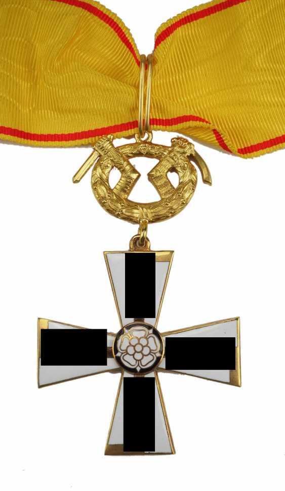 FinnlanDurchmesser: Orden des Freiheitskreuzes, 1941, 1. Klasse mit Schwertern. - photo 1
