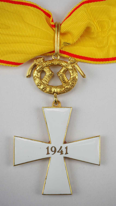 FinnlanDurchmesser: Orden des Freiheitskreuzes, 1941, 1. Klasse mit Schwertern. - photo 3