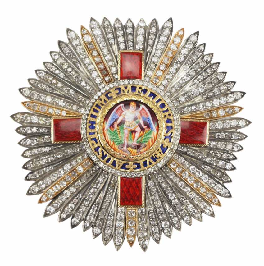 United Kingdom: The most distinguished order of St. Michael and St. George, Grand cross star in brilliant. - photo 1