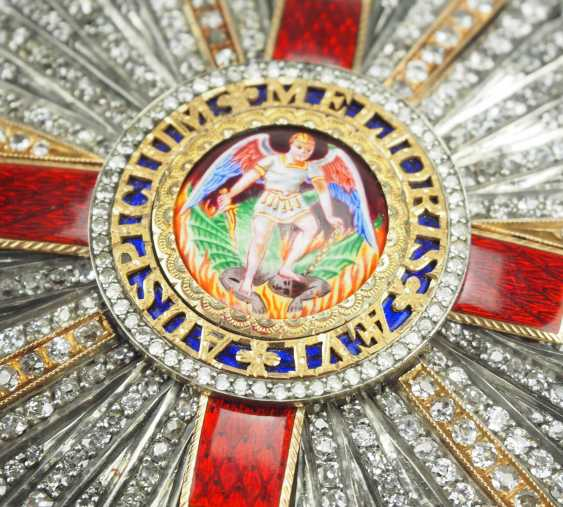 United Kingdom: The most distinguished order of St. Michael and St. George, Grand cross star in brilliant. - photo 2