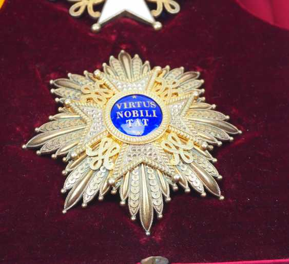 Netherlands: order of the Netherlands lion, Grand cross set, in a case. - photo 3