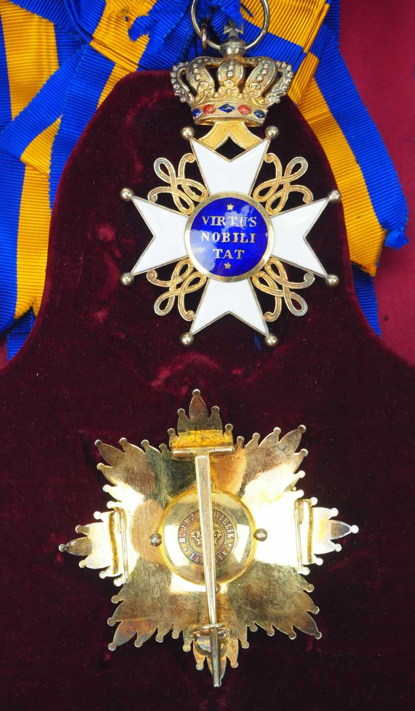 Netherlands: order of the Netherlands lion, Grand cross set, in a case. - photo 4