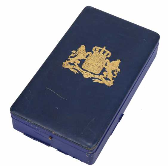 Netherlands: order of the Netherlands lion, Grand cross set, in a case. - photo 6