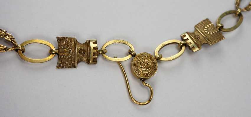 PortugaLänge: Militärischer Orden vom Turm und Schwert, 3. Modell (1832-1910), Kollane. - photo 2