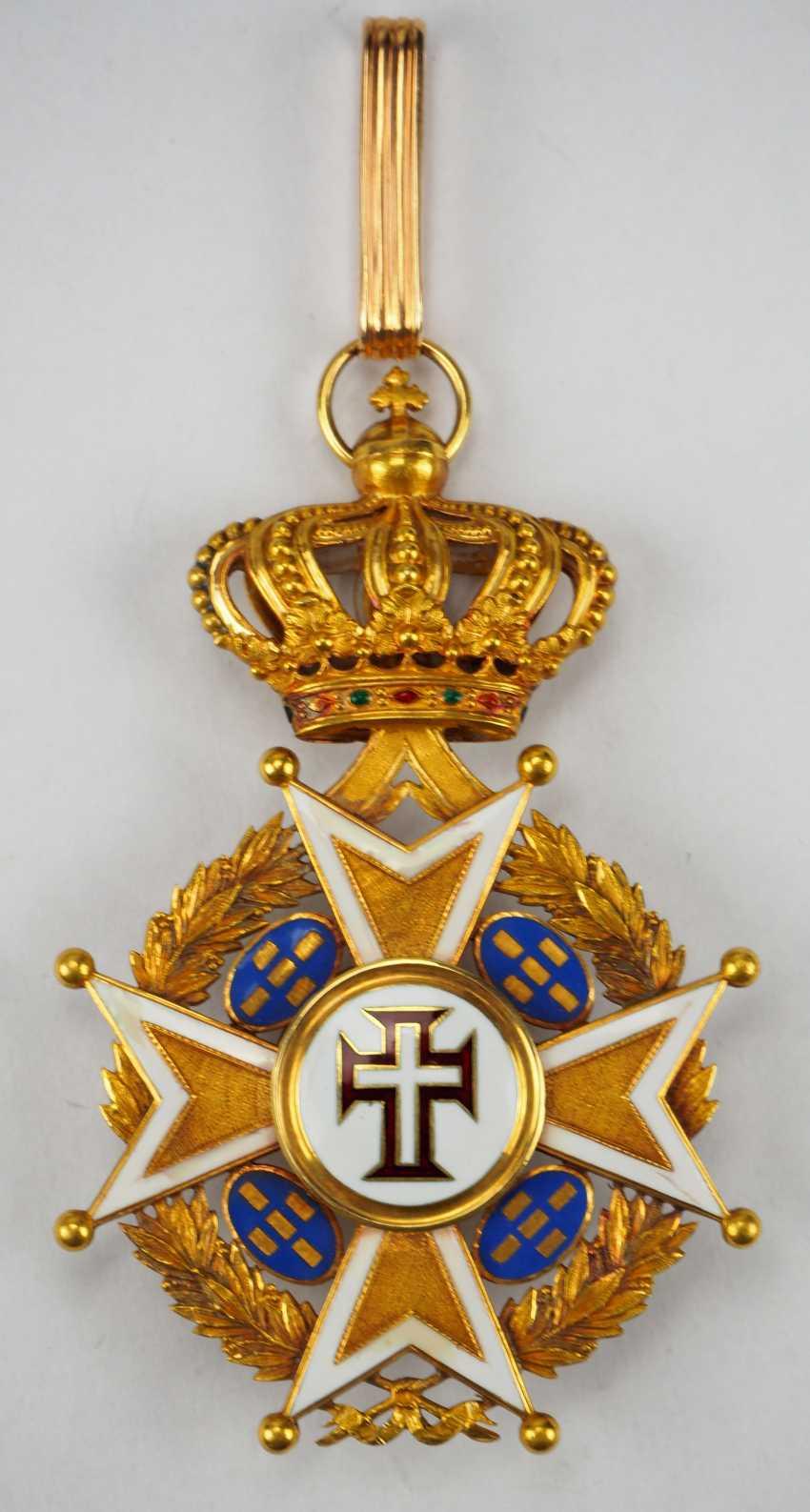 PortugaLänge: Militärischer Orden unseres Herrn Jesus Christus, 2. Modell (1789-1910), Kommandeur. - photo 1
