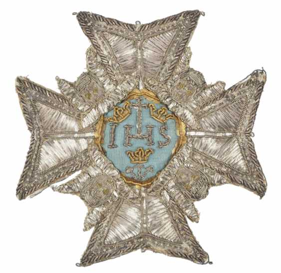 Sweden: Royal Seraphim Order, 1. Model (1748-1871), Breast Star. - photo 1