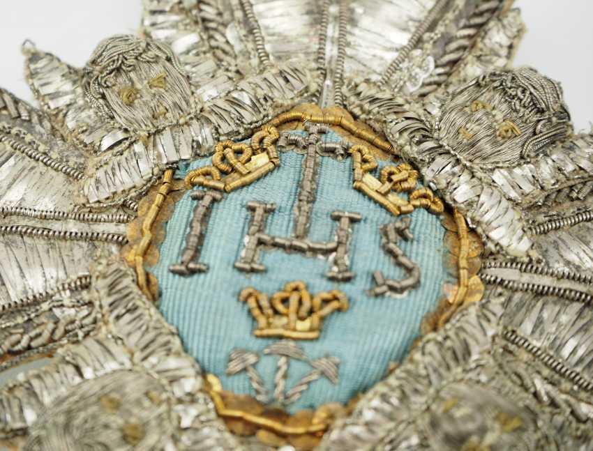 Sweden: Royal Seraphim Order, 1. Model (1748-1871), Breast Star. - photo 2
