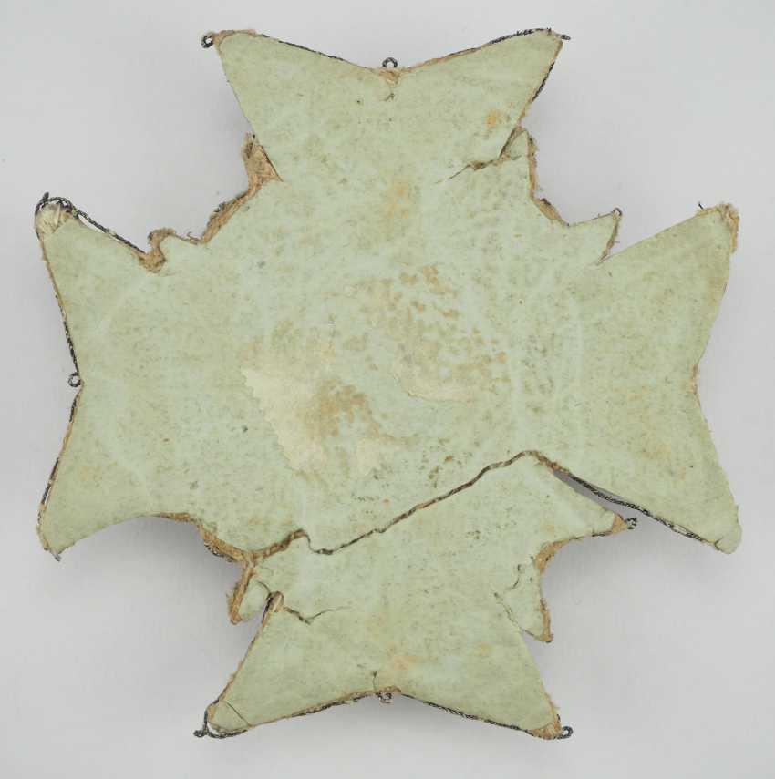 Sweden: Royal Seraphim Order, 1. Model (1748-1871), Breast Star. - photo 4