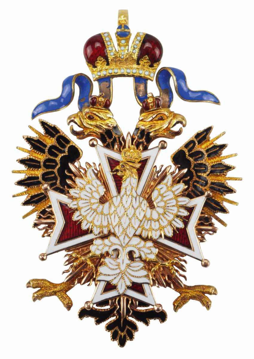 RusslanDurchmesser: Kaiserlicher und Königlicher Orden vom Weißen Adler, Kleinod. - photo 1