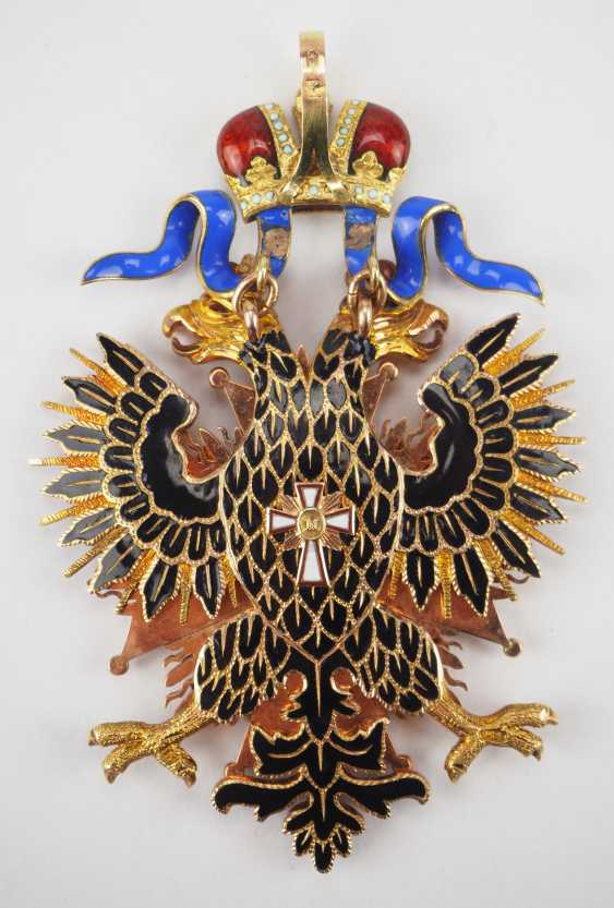 RusslanDurchmesser: Kaiserlicher und Königlicher Orden vom Weißen Adler, Kleinod. - photo 2