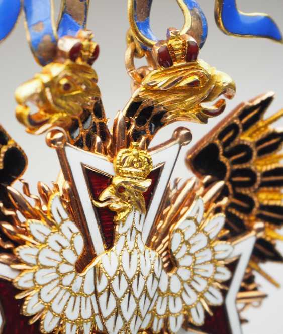 RusslanDurchmesser: Kaiserlicher und Königlicher Orden vom Weißen Adler, Kleinod. - photo 6