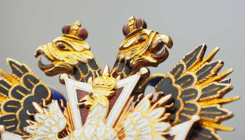RusslanDurchmesser: Kaiserlicher und Königlicher Orden vom Weißen Adler, Kleinod. - photo 7