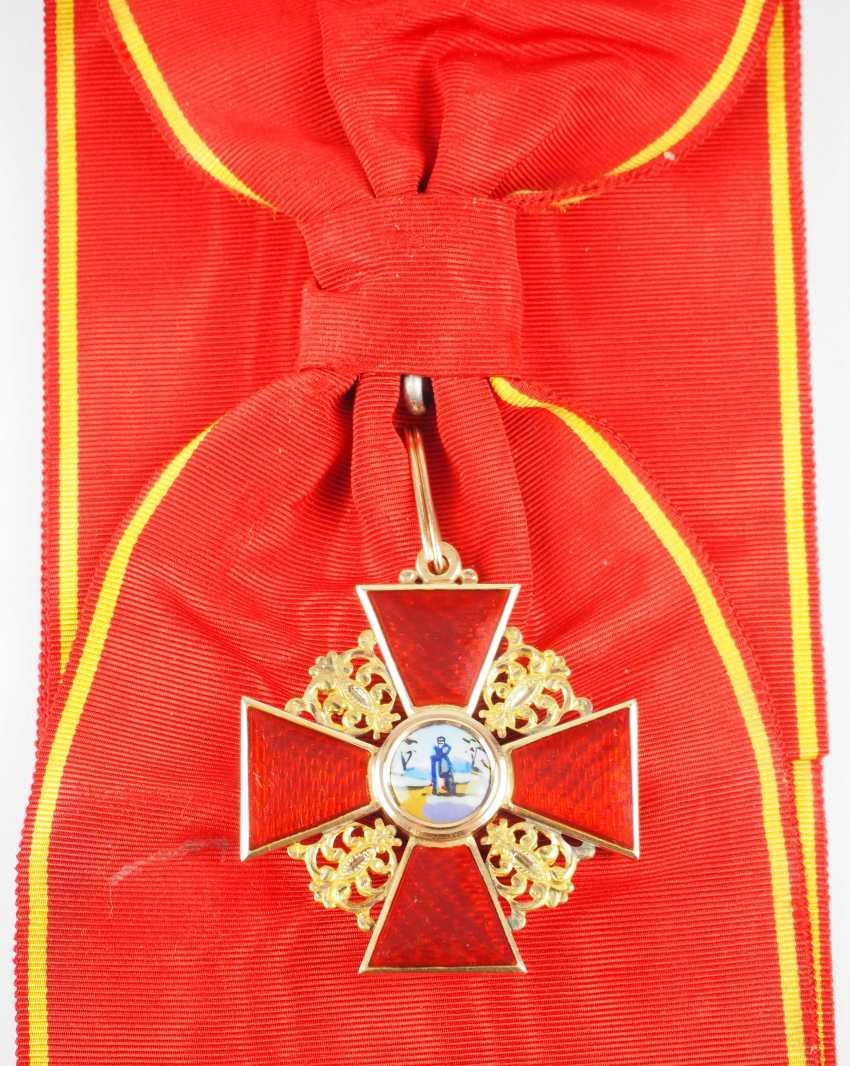 Russlan diameter: order of the hl. Anna, 2. Model (1810-1917), 1. Class Gem. - photo 1