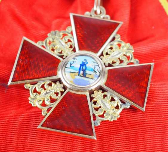 Russlan diameter: order of the hl. Anna, 2. Model (1810-1917), 1. Class Gem. - photo 3