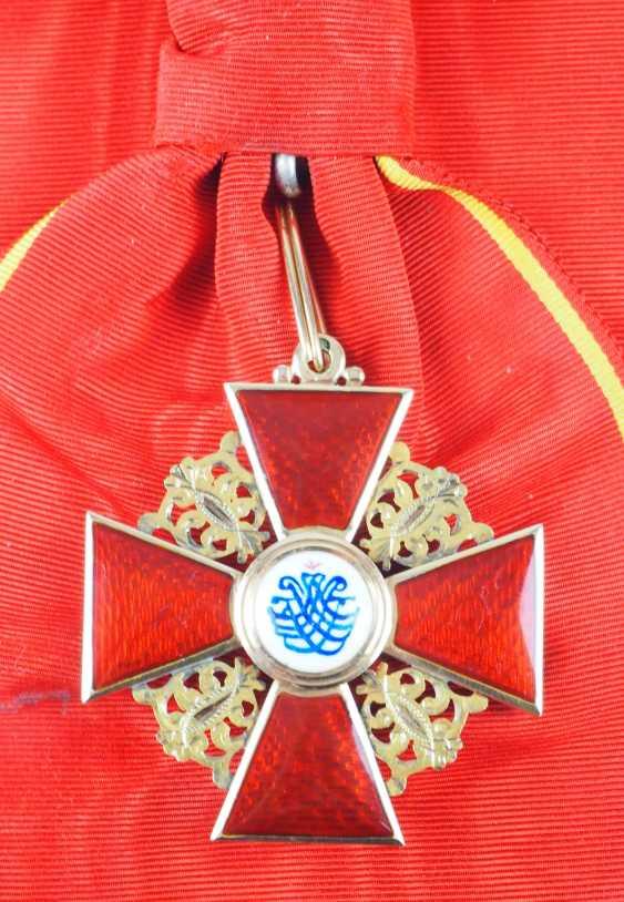 Russlan diameter: order of the hl. Anna, 2. Model (1810-1917), 1. Class Gem. - photo 4