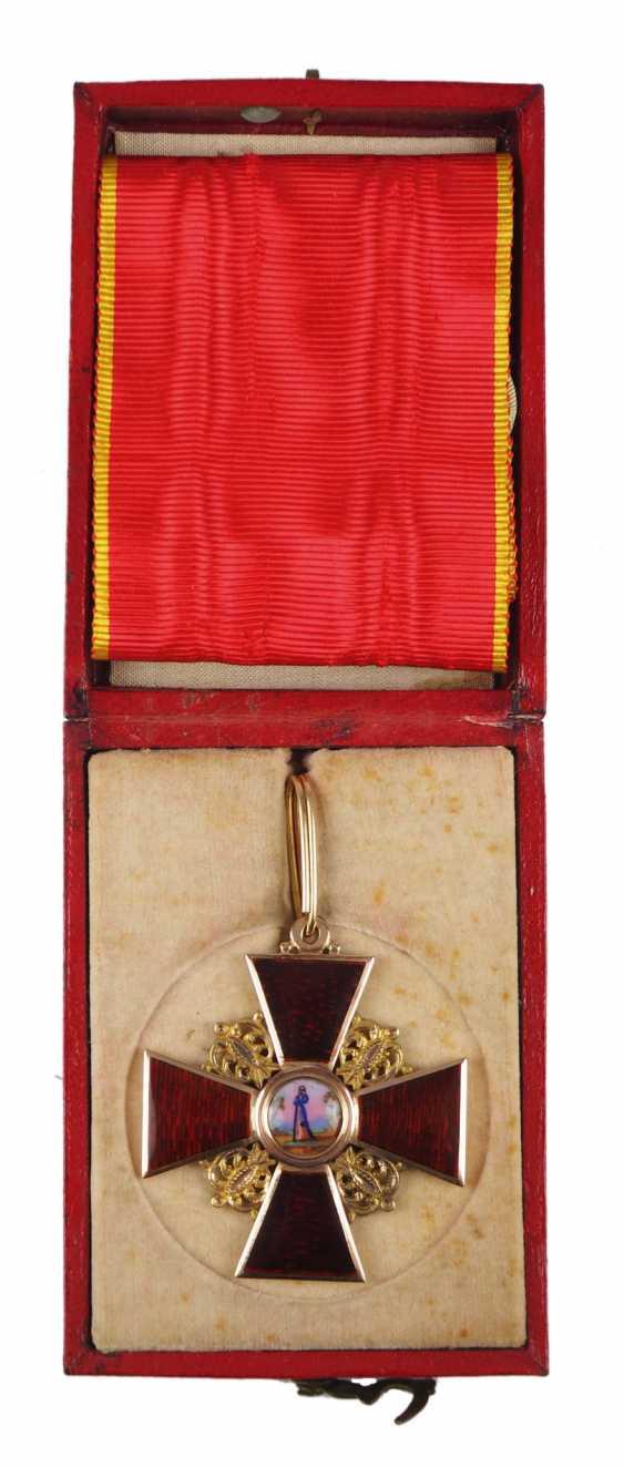 RusslanDurchmesser: Orden der hl. Anna, 2. Modell (1810-1917), 2. Klasse, im Etui. - photo 1