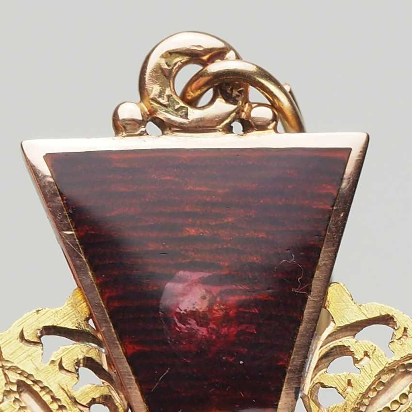 RusslanDurchmesser: Orden der hl. Anna, 2. Modell (1810-1917), 2. Klasse, im Etui. - photo 4